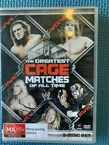 The Greatest Cage Matches of All Time - WWE WCW NWA AWA WCCW - DVD 3 Disc Set