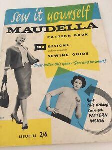 Vintage Maudella Pattern Book