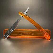 More details for rare vintage ussr straight razor shavette