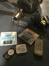 Canon Dc20 Dvd Camcorder with bag and accessories - tested and works well