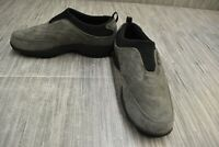 **Propet Wash & Wear Slip-On W3851 Comfort Shoe, Women's Size 8W, Gray NEW