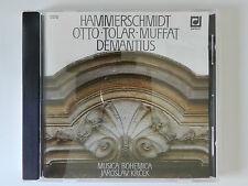 CD Musica Bohemica Jaroslav Krcek Hammerschmidt