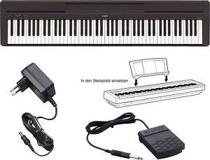 Yamaha P 45 B Digital E-Piano Klavier schwarz P45B P45 B NEU - P35 Nachfolger