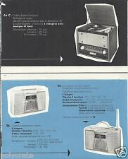Publicité ancienne _Radio Tourne-disques Récepteur Portatif Présentation Couleur