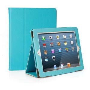 For iPad 2 3 4 Folding Folio Case Stand Smart Protective Cover Auto Sleep / Wake