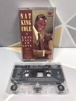 Nat King Cole Let's Fall In Love * Cassette tape * Very Good Condition