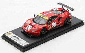 1/43 Looksmart Ferrari 488 GTE N°61 Luzich Racing 24h LeMans 2020 C.Ledogar Neuf