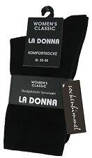Unifarbene Damen-Freizeitsocken aus Baumwollmischung