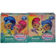 Shimmer & Shine- Big Face Art 2pk Promo Size Puzzles Shrinkwrapped Side by Side