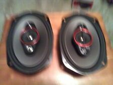 """A set of  2 Pioneer TS-900M 6x9"""" 4-way coaxial speakers 450W max power / 90W RMS"""