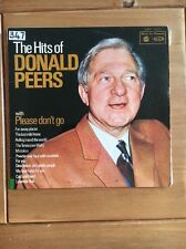 DONALD PEERS - The Hits Of LP Record