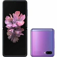 Samsung Galaxy Z Flip F700F 256GB GSM Unlocked SmartPhone - Mirror Purple