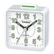Casio Travel Quartz Beep Alarm Clock TQ140-7 - White