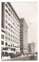 Postcard WA Seattle Leary American Bank Building RPPC c1907 Reid FREE SHIPPING