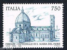 ITALIA 1 FRANCOBOLLO ARTISTICO E CULTURALE SANTA MARIA DEL FIORE 1996 nuovo**