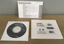 Casio YA-D30 2D-3D Conversion Software for DLP Link Projectors NEW