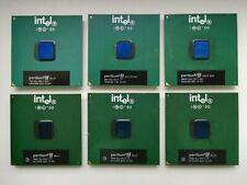 Intel Pentium III 600 700 733 800 800EB 866 900 933 1000 Vintage CPU socket 370