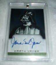 Star Wars Evolution James Earl Jones As Darth Vader Autograph Auto Topps Card