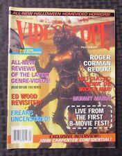 1999 VIDEOSCOPE Horror Movie Magazine #32 VF- Wasp Woman Cover