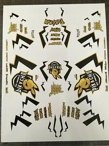 RC DRIFT CAR PIKACHU + color Decal Sticker cuted Yokomo MST Tamiya Overdose