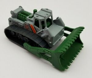 MATCHBOX 2019 MBX WILDFIRE RESCUE 2000 BULLDOZER GREEN AND GRAY MINT CONDITION