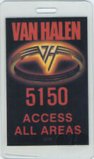 VAN HALEN 1986 5150 Laminated Backstage Pass