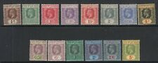 More details for fiji-1922-27  a mounted mint set to 5/- sg 228-241