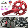 IXF 104bcd 32-42T MTB Bike Narrow Wide Crankset Crank Chainring 9/16in Pedeal