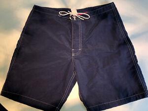 Custom Sid Mashburn x Kanvas By Katin Boardshorts Size 32 Medium Navy Blue
