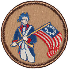 Cool Boy Scout Patches- The Patriot Patrol! (#051)