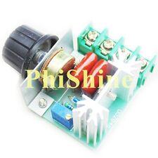 2000W SCR Adjustable Voltage Regulator Dimmer Speed Controller AC 220V 25A