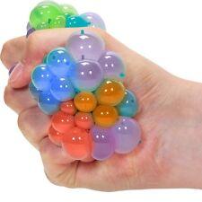 Squishy Rainbow Mesh Ball Sensory Toy - Fiddle Fidget Stress Sensory Autism ADHD