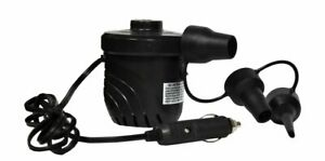 NEW Rave High Pressure DC12V Electic Pump with 3 Standard Inflation Adaptors