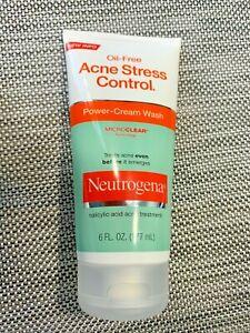 Neutrogena Acne Stress Control Power Cream Wash - 6 FL OZ Expires: 4/2022