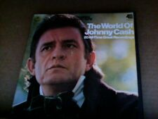 EX Columbia REEL TAPE 3 3/4 IPS The World of Johnny Cash 20 HITS play tested EX
