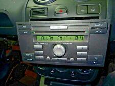 Ford fiesta MK6 6000 reproductor de CD y código 6S61 18C815 AF
