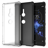 Coque Sony Xperia XZ2 Silicone Gel TPU Meilleur Etui Protection Housse Robuste