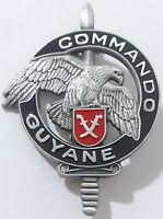 insigne / brevet de Stage CEC C.E.C COMMANDO GUYANE Légion Étrangère 3°REI