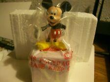 Mickey Mouse Figurine Grolier Walt Disney Alphabet Fun Blocks M Collectible