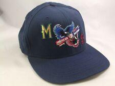 Brewers Cardinals Interleague Hat Blue Snapback MLB Baseball Cap Made USA