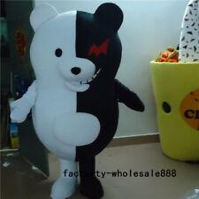 Danganronpa Monokuma Bear mascot Costume Parade Anime Game Suit Adult Dress 2018
