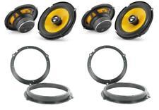 """JL Audio C1-650X 6.5"""" coassiale FIESTA Mk7 Altoparlante anteriore e posteriore aggiornamento"""