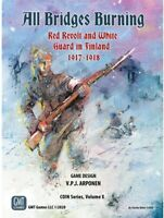 GMT Games 1920 All Bridges Burning Red Revolt and White Guard in Finland 1917-18