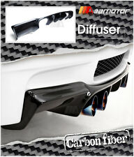 Carbon Fiber GTS Style Rear Diffuser Quad for 2007-2013 BMW E92 Coupe M3 Bumper