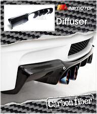 Carbon Fibre GTS Style Rear Bumper Diffuser Quad for 2007-2013 BMW E92 Coupe M3
