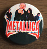 METALLICA BUTTON BADGE AMERICAN HEAVY METAL ROCK BAND Master of Puppets 25mm PIN