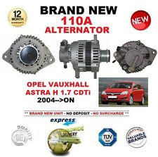 FOR OPEL VAUXHALL ASTRA H 1.7 CDTi 2004-ON NEW 110A ALTERNATOR with VACUUM PUMP