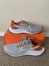 New Nike Air Zoom Pegasus 38 Texas Longhorns Mens Size 11.5 Dj0858-001