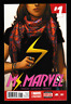 Ms Marvel 1 2 3 4 5 (Lot of 5) Kamala Khan 1st Print Marvel Comics 2014