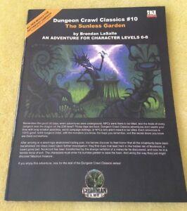Dungeon Crawl Classics #10: The Sunless Garden by Brendan LaSalle Goodman Games
